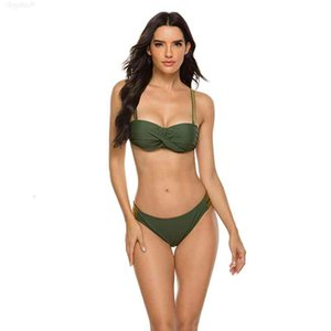 Womens Swimwear Two Piece Swimsuit Underwire with Pad Mujer Summer Bikini Push Up Woman Clothes Biquini Badpak Sexy Bathing Suit