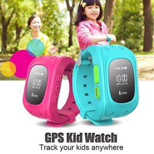 Q50 Kids Smart Watch GPS LBS Double Location Safe Children Watch Activity Tracker SOS Card for Android and IOS Cheapest Free DHL 30pcs