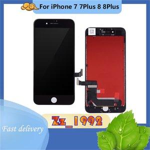 Cep Telefonu Dokunmatik Paneller Orijinal Kablo LCD Ekran iPhone 7G 8G 7 Artı 8 P Ekran Değiştirme Meclisi Sayısallaştırıcı Siyah Beyaz