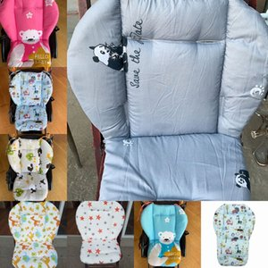 Baby Stroller Seat Pad Universal Baby Stroller High Chair Seat Cushion Liner Mat Cotton Soft Feeding Chair Pad Cover Protector 1296 Y2