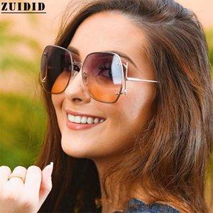 Square Sunglasses Women Fashion Luxe Femme Glasses Pink Brown Lunette De Soleil Tide Big Frame Zonnebril Dames Vendors