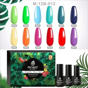 Nail Gel Polish Set 12 Colors UV Enamel Esmate Kit Bright Green Red Semi Permanent Manicure Varnish Professional Vernis Things