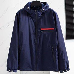 SS001 Fashion mens designer jacket Goo d Spring Autumn Outwear Windbreaker Zipper clothes Jackets Coat Outside can Sport Euro Size Men's Clothing