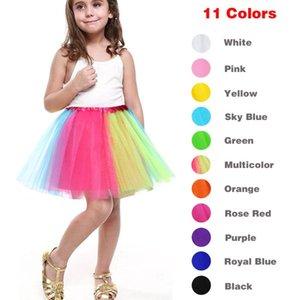 Skirts Kinderfasching Fashion Cute Girl Tutu Fluffy Children Ballet Dance Party Pettiskirt Dancewear Tulle Princess Skirt