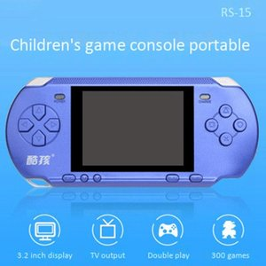 CoolBaby RS-15 FC Renkli SN Çocuk Çift Oyuncak PSP NES Console Taşınabilir Konsol (Blu Oyuncular oyunu