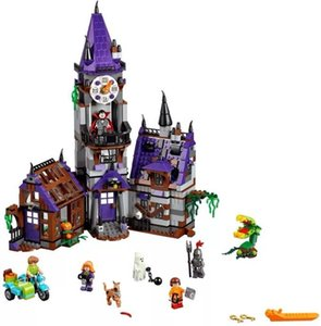 bela10432 Scooby-Doo Building block model toy Mysterious house castle