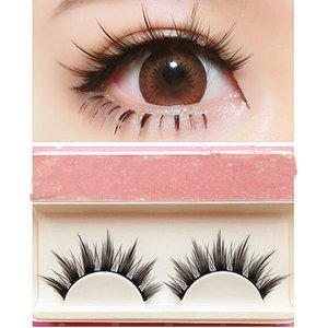 25mm Mink Lashes Natural Long Cosplay Makeup Cross Strip False Eyelashes 3D Black Eye Lashes 1 5pair