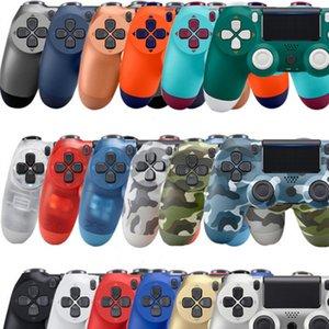 En Stock Wireless Bluetooth PS4 Contrôleurs de jeu PS4 Gamepad Contrôleur de joystick 22 couleurs pour la station de lecture 4 Système dans la boîte de vente au détail
