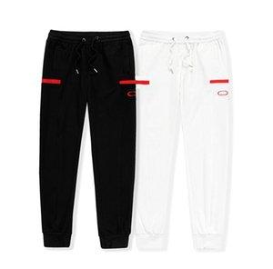 20FW Мужские Дизайнерские Брюки Высокие Управляющие Дрожные Дрожки Для Мужчин Устранение Спортивных штанов Повседневная Человек Хип-Хоп Уличная одежда Азиатский Размер