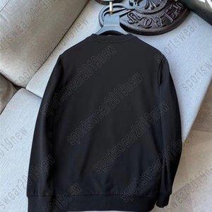 2021 Klasik Erkek Tasarımcılar T Gömlek Rahat Spor Ünlü Yüksek Kalite Uzun Kollu Tees Elbise Baskı Çiçek Ayı Pic Reversal Mektup # ROID # M-5XL