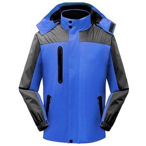 Blue Thuren Men лыжная мягкая куртка на открытом воздухе на открытом воздухе Спортивные пальто Женщины лыжные Пешие прогулки Ветрозащитный зимний пиломатериалы Мягкая оболочка Водонепроницаемая дышащая одежда