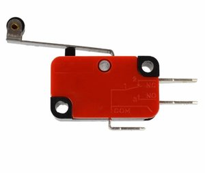 V-156-1C25 Micro Switch Lever Long Hinge Lever Arm Roller NO+NC 100% Brand New Momentary Limit Micro Switch SPDT Snap Action Switch