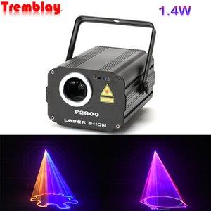 1400mW DMX 512 Scanner Laser Light RGB Colorful Party Xmas DJ Disco Laser Lights Laser Light Show Uv Light