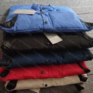 2021 Жилетные жилеты пуховик зимняя куртка жилетки вниз парки пальто с капюшоном водонепроницаемый для мужчин и женщин ветровка с капюшоном куртка толстые теплые размеры одежды S-XXL