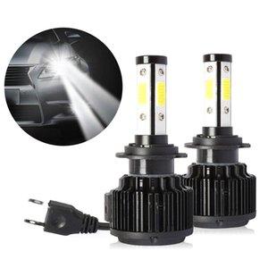 LED H4 H7 H11 Farlar 12 V Günışığı Lambaları Arabalar için 8000LM 6000 K Ampuller Sis farları Ön Araba