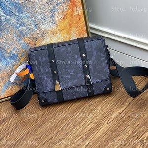 Trunk Messenger bags studs crossbody fashioned mens bag trunks Purse Wallet designer Bag