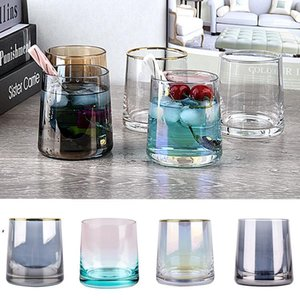 250ml Creative Wine Glasses Whiskey Glass Home Bar Supplies Colorful Phnom Penh Glass Cup 10 Style LLF10507