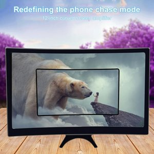 Universal Mobile Phone Screen Magnifier HD Enlarger Magnifying Video Projector Bracket Desktop Holder Stand For Cell Mounts & Hold Holders
