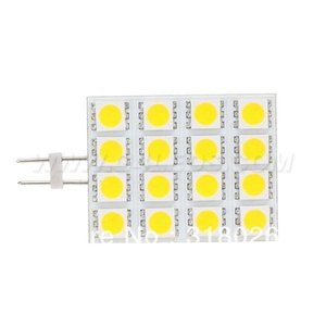 Bulbs Square Type LED G4 Bulb DC AC10-30V 16 LEDs SMD 320-352LM Commercial Engineering Indoor Professional Sailing 1pcs lot