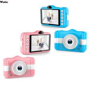 Childrens Camera Cute Cartoon Mini Digital Camera For Kids 3.5 Inch 12MP 1080P Photo Video Camera Child Birthday Christmas Gift