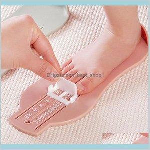 Детская младенческая регулируемая нога линейка измеритель калибровки обувь размер измерительный инструмент Детская обувь малыша фитинги мера Ki HVOA2