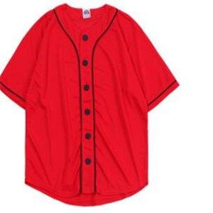 Men's Baseball Jersey 3d T-shirt Printed Button Shirt Unisex Summer Casual Undershirts Hip Hop Tshirt Teens 052