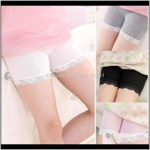 6 Colors Ins Kids Modal Cotton Summer Autumn Fashion Lace Leggings For Safety Pants Baby Uzh3N Fb5Pr