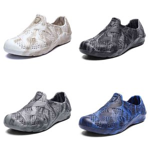 men water shoes summer beach shoe classic black grey beige white fashion home outdoor soft work sneaker mens breathable sports trainer