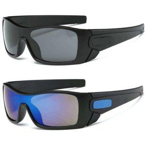 مرآة الرياضة الكلاسيكية النظارات الشمسية الرجال في الهواء الطلق الصيد سائق الزجاج المتضخم o sunglass الفاخرة العلامة التجارية UV400