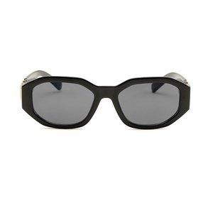 Neue 4361 Kopf Männer Sonnenbrillen Unregelmäßige Kleinrahmen Damen Designer Brillen Mode Brille mit Kasten 10 Farben