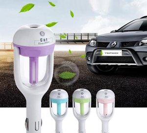 Car air atomization, diffusion, purification, humidification, cleaning, mini rechargeable portable kettle steam humidifier