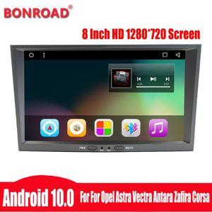 Player Bonroad Android 10.0 Zafira B Astra H J Vectra C Corsa D G Meriva Vivaro Antara GPS Radio Navigation DVD