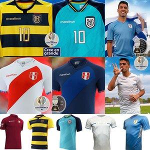 Ecuador 2021 Copa América Perú Jerseys de fútbol Uruguay Venezuela Inicio Alojamiento PERVIS ESTUPIÑÁN 2022 GONZALO G.PLATA MICHAEL ESTRADA F.Martinnez L.Campana Camisetas de fútbol