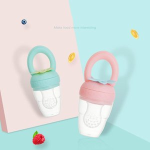 Pacifiers# Infant Safe Silicone Strawberry Shape Pacifier Fresh Food Feeder Baby Teeth Fruit And Vegetable Feeding Nipple