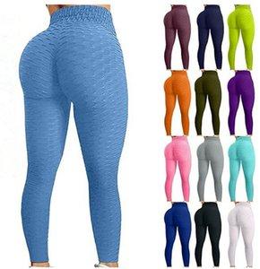 Maternity Bottoms Bumps Style Tik Tok Leggings Mettez la hanche Plolf élastique Taille haute Taille à la taille respirante Pantalon de yoga mince de Yoga Sports d'intérieur