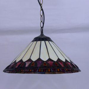 Pendant Lamps European Lamp Creative Art Red Dragonfly Glass Home Decor Light Fixtures El Studio Deco Maison