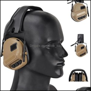 Sports & Outdoorsmilitary Tactical Headset With Noise Reduction Ear Protection Shooting Headphones Paintball Army Cs Hunting Headsets Aessor