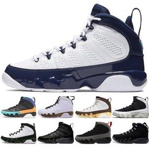 New 9 9s Dream It Do It UNC Mop Melo Mens Sports Shoes LA OG Space Jam men Bred All Black The Spirit sports sneakers designer size 7-13