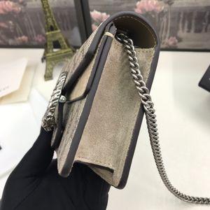 2021 Mini Moda Hakiki Deri Kadın Omuz Çantası Mektup Çanta Değiştir Cüzdan Klasik Bayan Crossbody Akşam Çanta Kutusu ile 476432