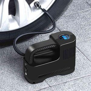 150 PSI Compressor DC 12V Gonfleur numérique Portable Auto Air pour la moto moto LED pompe pneumatique