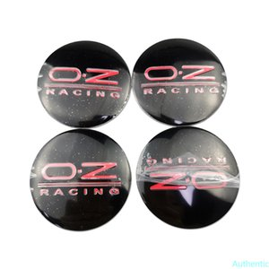 OZ Racing Logo Universal for Land Rover Discovery Mazda Mini Cooper Mitsubishi Nissan Opel Car Wheel Hub Tire Center Cap Sticker