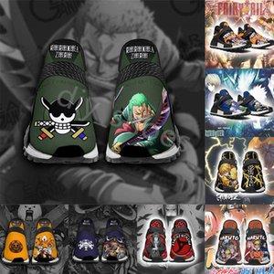 21ss diy مخصصة أحذية رياضية الرجال الاحذية janpan الكرتون أنيمي الشباب الأزياء شخصية شارع نمط الرجال النساء الرياضة المدرب FS3354