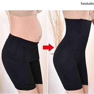 Женщины Shapeewear High Taifter Traine Tummy Shaper Корректирующее нижнее белье Дамы для похудения Трусики Животница живота