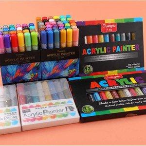 Water based color marker art DIY photo album pigment brush Morandi color human body color brush