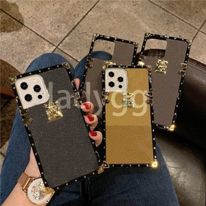 for Iphone 13 Case Luxurys Designers Leather Phone Cases Pro Max 12 mini 11 XS XR X 8 7 Plus Fashion Print Design Bee Classic Back Cover Luxury Mobile Shell