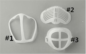 3D Mask Bracket Lipstick Protection Silicone Stand Face Mask Holder Enhancing Breathing Smoothly Cool Mask Hook
