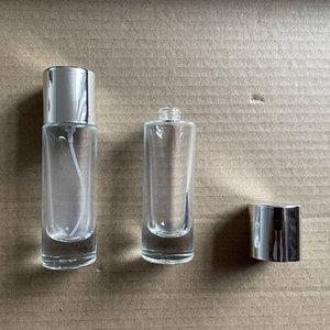 30ml 리팩 랩 유리 오일 향수 병 빈 명확한 화장품 메이크업 Atomizer 향수 포장 병 판매