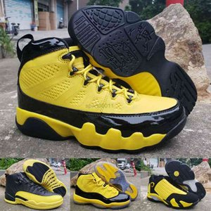 Space Jam 11 14 Yellow Bumblebee Men Shoes Jumpman 12 9 RS-X Transformes Athletic Sneakers Mens Trainer
