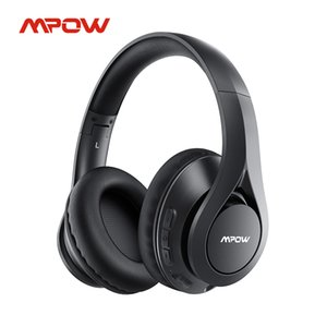 Mpow 059 Pro Lite 60h Playtime Bluetooth 5.0 Wireless Headphones Hi-Fi Stereo Sound CVC 6.0 Noise Reduction for Cell Phone PC