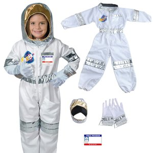 Children's space astronaut professional role-playing costume Halloween 80-100cm wearable